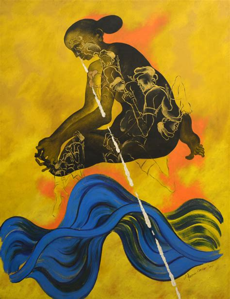 Arpana Caur | Soldier's Mother (1995) | Artsy | Indian ...