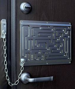 cool door lock | * Cool n Intriguing Things * | Pinterest