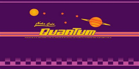 nuka cola quantum label by paigeouttahistory on deviantart