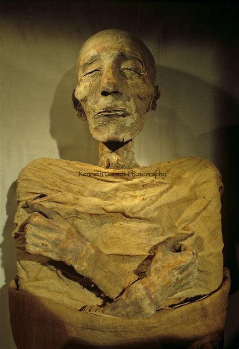 Mummy Of Merenptah, Son Of Ramses The Great, New Kingdom