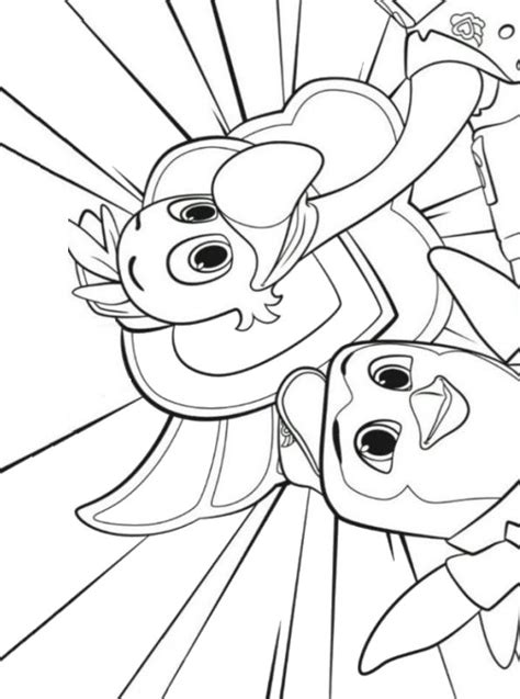 kids  funcom coloring page tots totsfreddy pip
