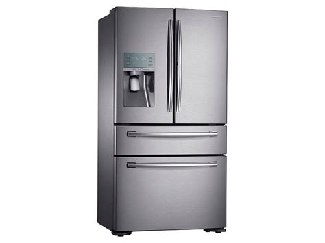 Cabinet Depth Refrigerator Width by 22 Cu Ft Counter Depth 4 Door Door Food Showcase
