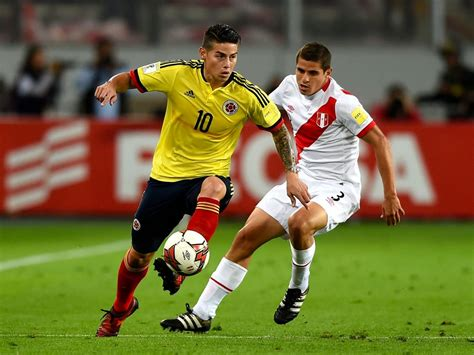James rodríguez (colombia) right footed shot from the centre of the box to the bottom right corner. Peru vs Colombia Preview, Tips and Odds - Sportingpedia ...