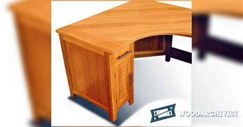 corner computer desk plans woodarchivist