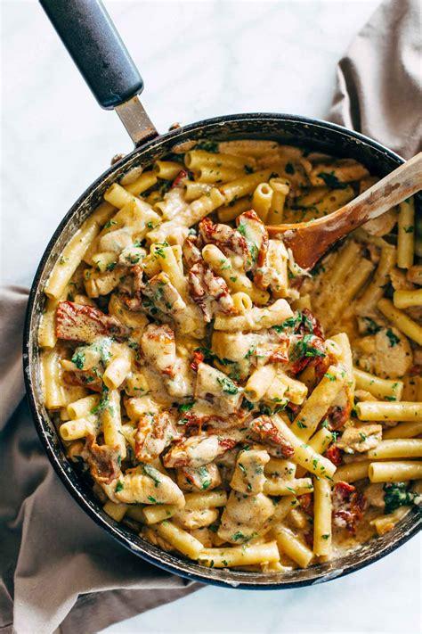cuisine florentine sun dried tomato chicken florentine pasta recipe pinch