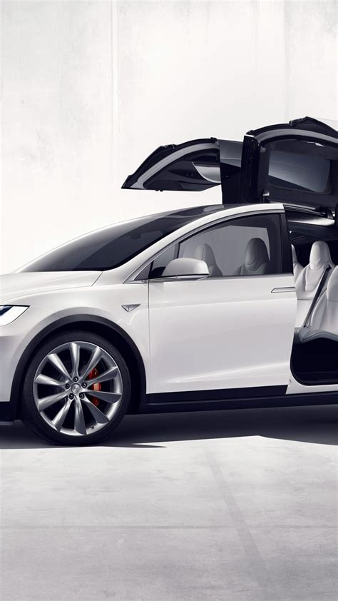 wallpaper tesla model  white electric cars suv