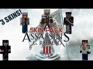 Minecraft Skin Pack - Assassin's Creed 3 - YouTube