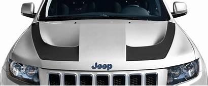 Cherokee Grand Jeep Hood Stripes Srt Hockey
