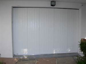 installation de porte de garage laterale pour particulier With installation porte garage