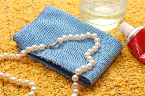 how to clean pearls how to clean a pearl necklace 5 steps with pictures wikihow
