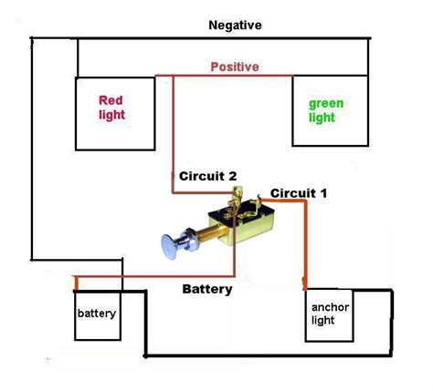 Need Very Simple Wiring Diagram For Navagation Lights