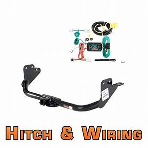 Curt Class 2 Trailer Hitch  U0026 Wiring For Mitsubishi