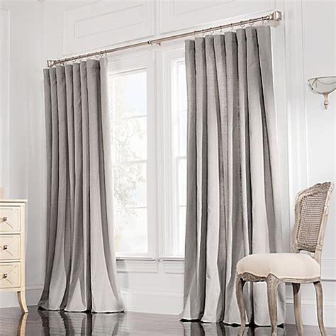 wide window curtains buy valeron estate cotton linen 84 inch wide window