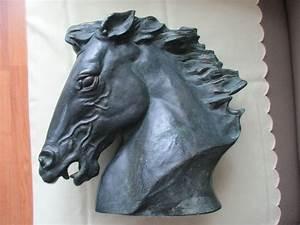 James Killian Spratt Horse Head Flaming Mane 1978 Austin ...