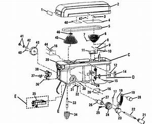 Drill Press Wiring Diagram