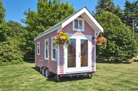 Tiny Haus Kaufen österreich by Pink Lofted 160 Sq Ft Tiny House On Wheels In Delta