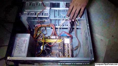 How To Connect Internal Hard Disk To The Computer (telugu
