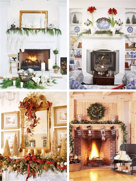 mantel christmas decorations ideas digsdigs