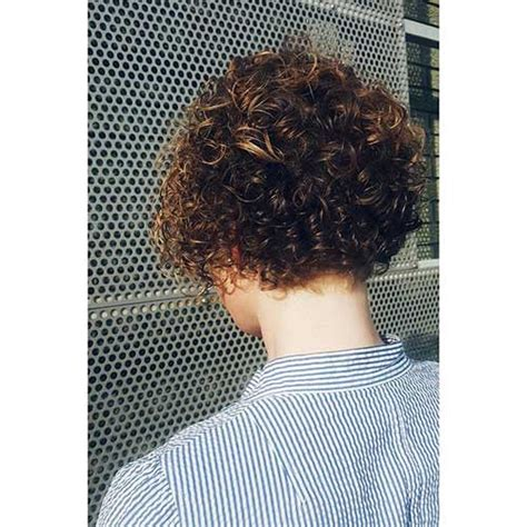cool short naturally curly hairstyles short