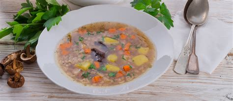 Krupnik Zupa | Traditional Soup From Poland