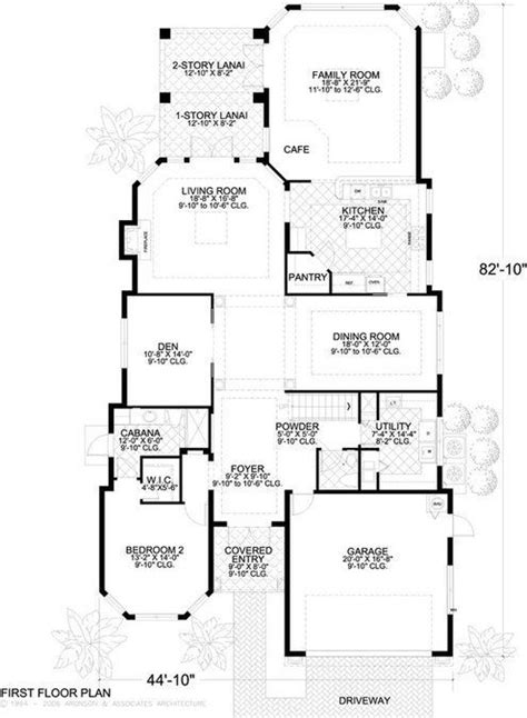 5 Bedroom 5 Bath House Plan #ALP 019S Allplans com
