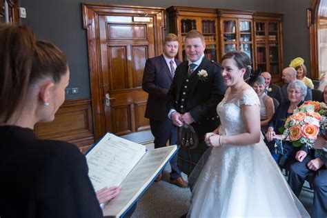 glasgow city chambers wedding  married   heart   city