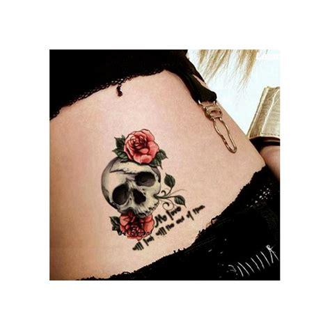 tatouage temporaire  school tete de mort