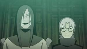 Orochimaru and Kabuto talk | Daily Anime Art