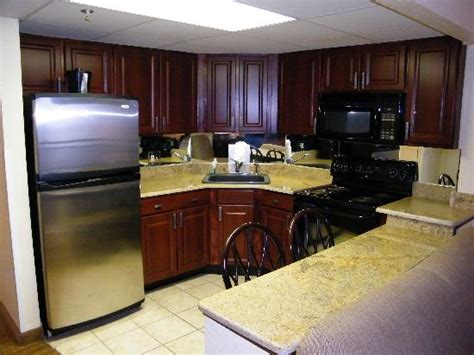 stainless appliances and granite countertops picture of