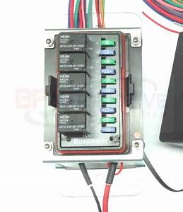 Waterproof Universal Off Road Relay And Fuse Power