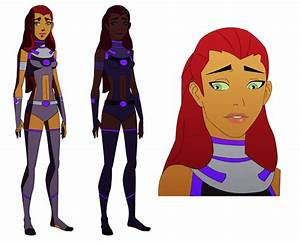 Young Justice Starfire And Silkie By Amtmodollas - Hot ...