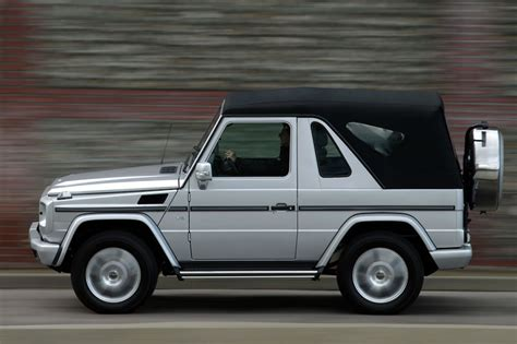 Mercedes G Class Cabriolet by Mercedes G Class Cabriolet 2000 Pictures Mercedes