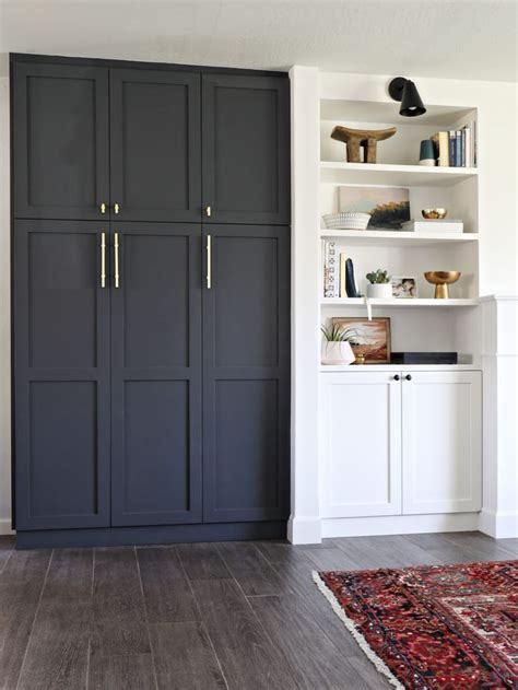 our new built in pantry home built in pantry ikea pax