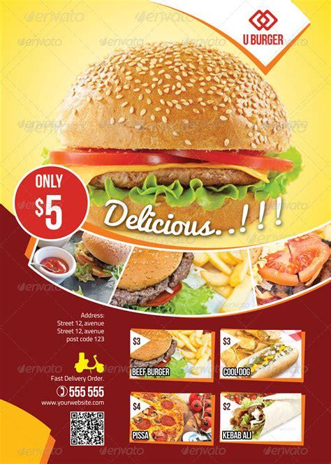 creation cuisine creative food flyers design imgkid com the image