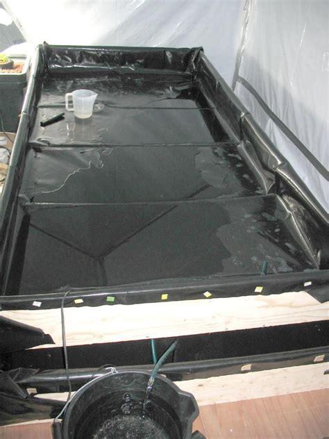 flood and drain table diy 4x8 flood and drain tank d i y kit uk420