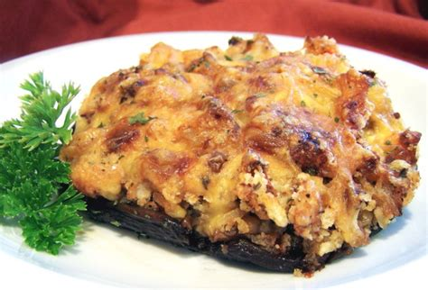 shrimp stuffed portabella mushrooms recipe foodcom