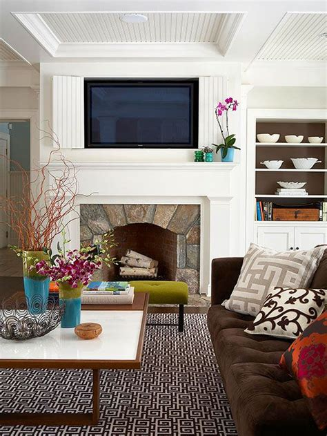 Hang A Tv A Fireplace by Fireplaces Tvs And The Fireplace On