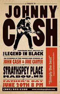 Johnny Cash Poster : johnny cash band poster type design and packaging pinterest ~ Buech-reservation.com Haus und Dekorationen