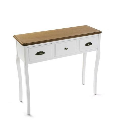 white wood console table console table white wood 3 drawers