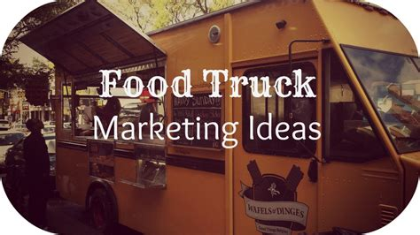 Using Promotional Products For Marketing Your Food Truck
