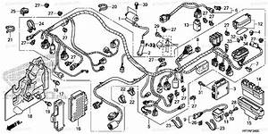 Honda Atv 2013 Oem Parts Diagram For Wire Harness