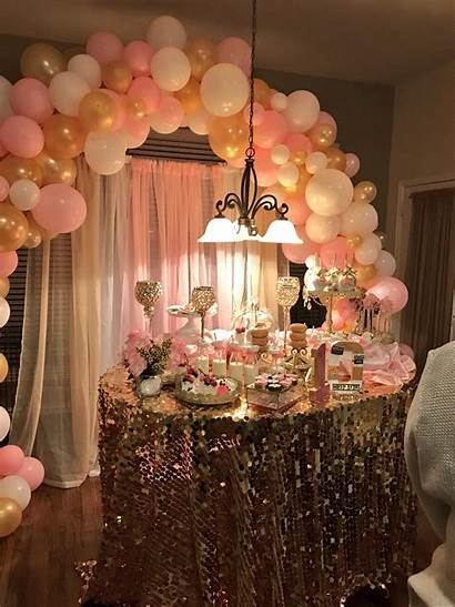 Birthday Decorations Hotel Parties Party 16th Golden