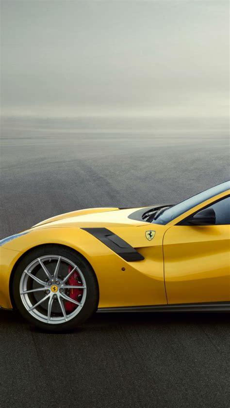 wallpaper ferrari  tdf yellow sport car cars bikes