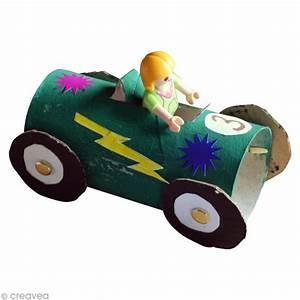 Fabriquer Un Personnage En Carton : diy enfant r cup voiture de course avec rouleau en ~ Zukunftsfamilie.com Idées de Décoration