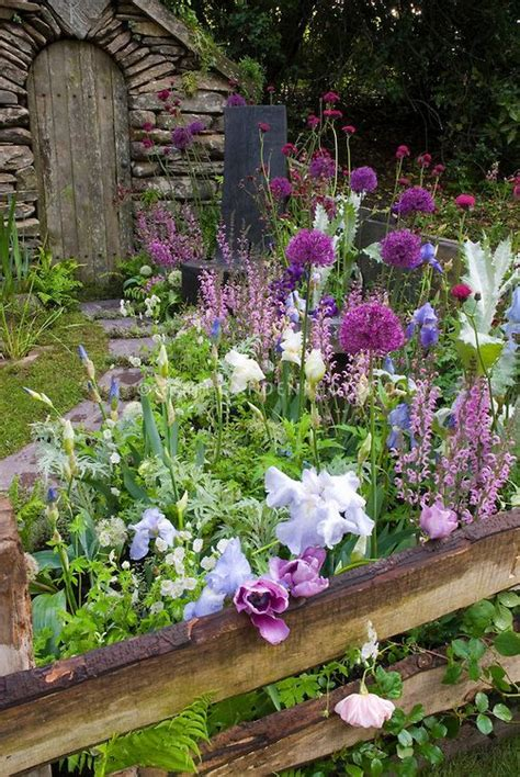 English Garden  Lavender, Purple, Pink Toned Perennial