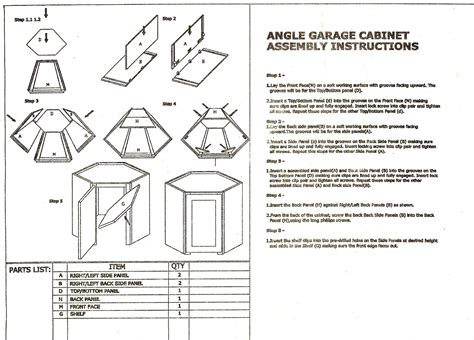 assembly instructions functionalities net