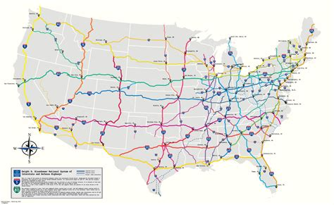 interstate highway map usa highways states united maps system mapporn comments redd hotels aaa euro rail needs type