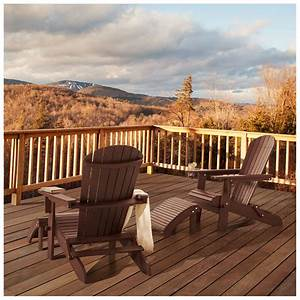 Amazon.com : Strathwood Adirondack Chair with Cupholder ...