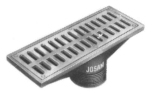 josam floor drain basket jsr josam r rectaingular nikaloy strainer by commercial