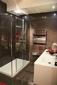 Photo salle de bains et marbre deco photo decofr for Salle de bain design avec image encadree décoration